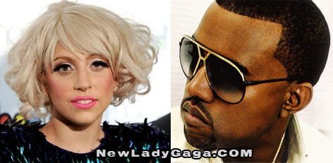 Lady Gaga and Kanye West
