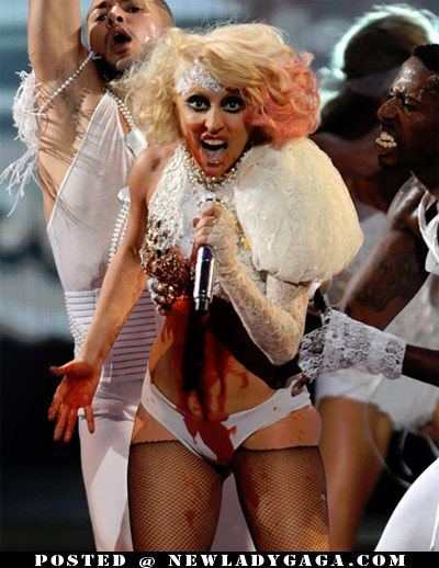 Lady Gaga Blood